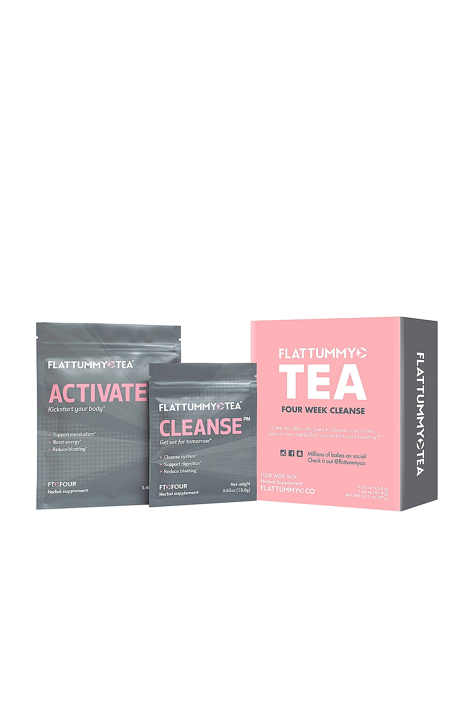 FLAT TUMMY TEA FOUR WEEK CLEANSE