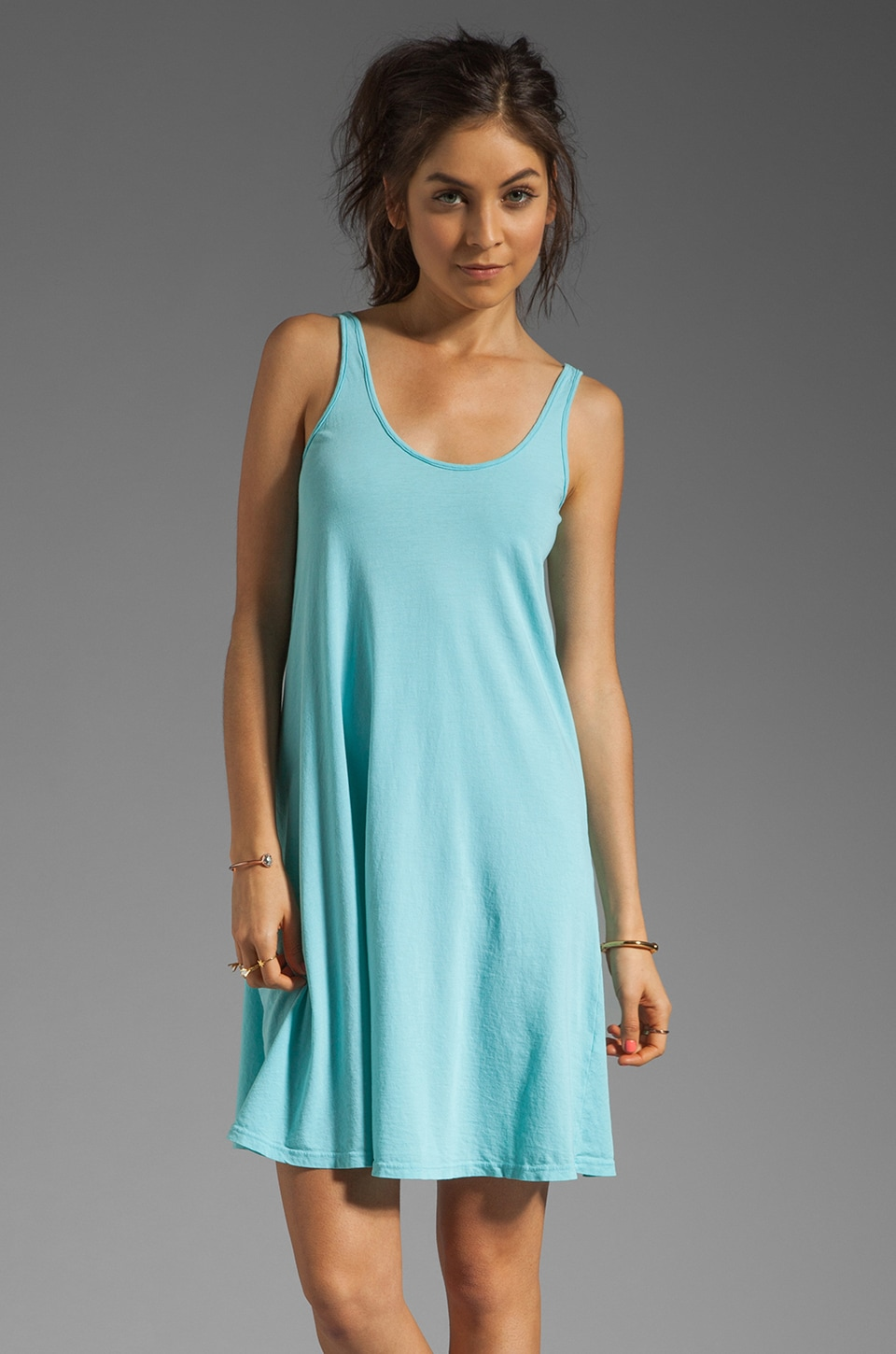 fLuXuS Vinna Tank Dress in Carolina