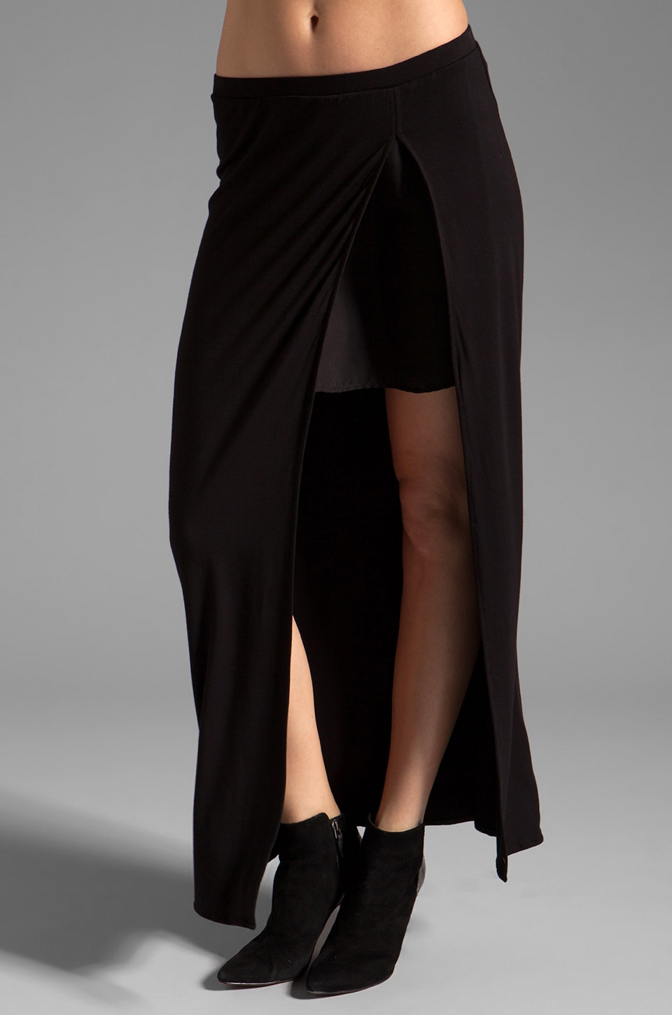 fLuXuS Ricca Skirt in Black