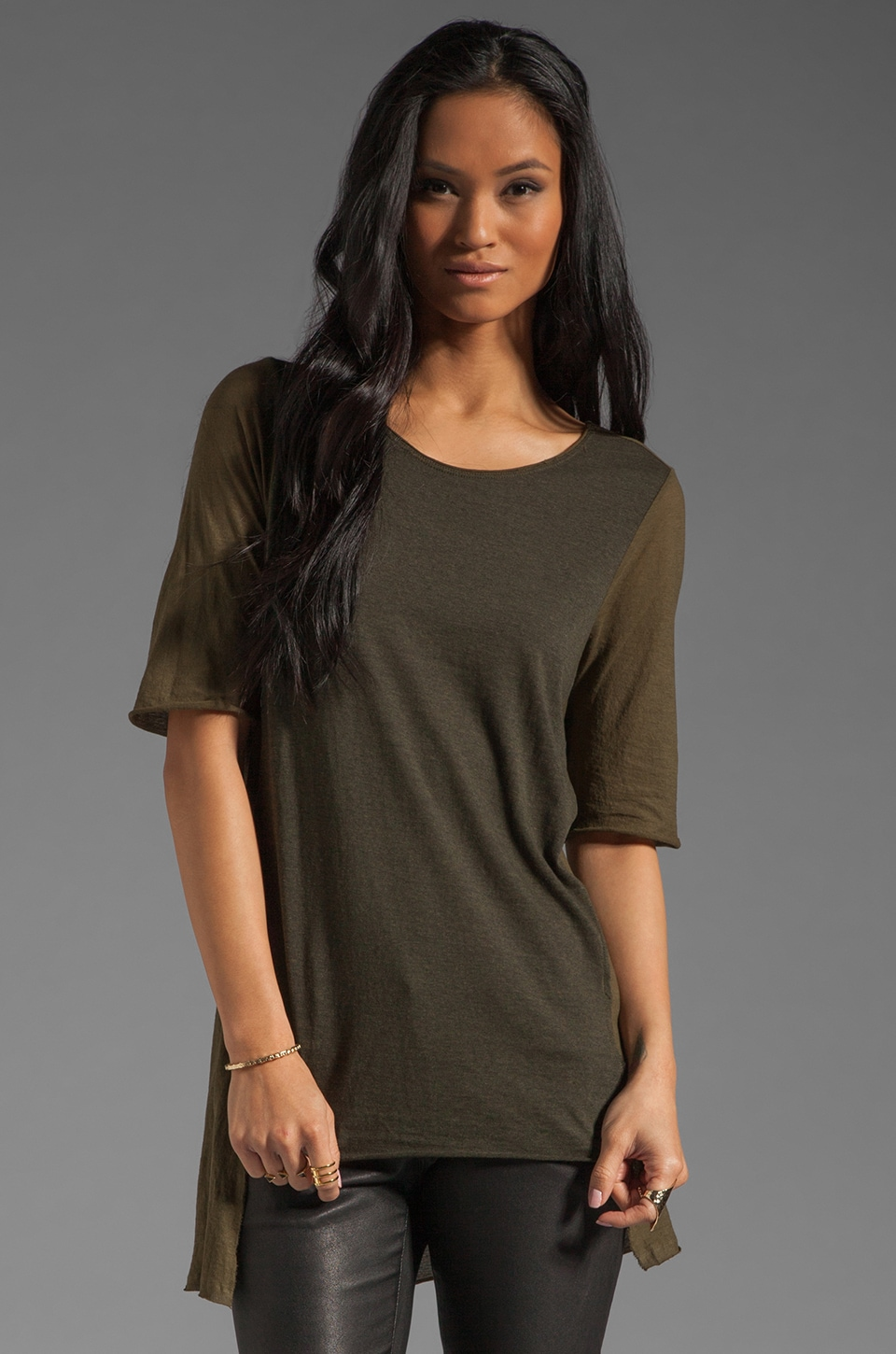 fLuXuS Zoey Top in Army