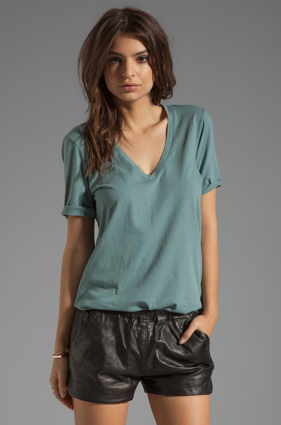 fLuXuS Perfect Tee in Sage