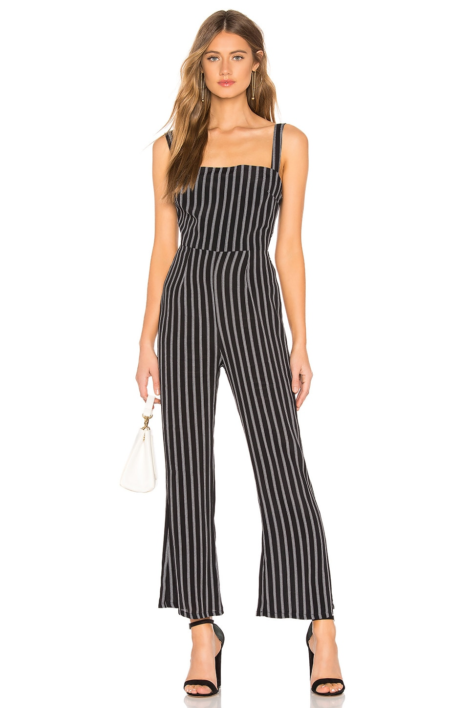 FLYNN SKYE Lexi Jumpsuit in Black Stripe