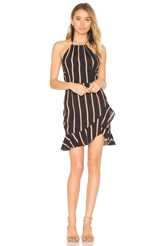 FLYNN SKYE Monica Mini Dress in Golden Light