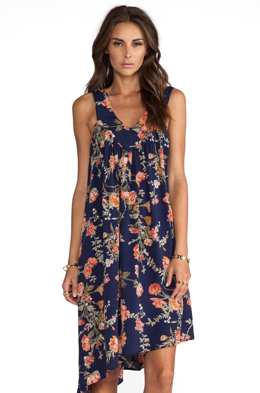 FLYNN SKYE Country Cocktail Dress in Midnight Garden