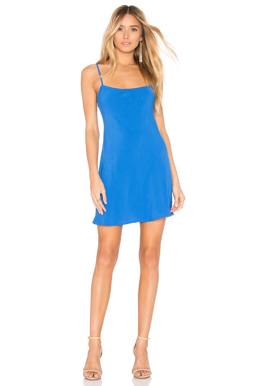 FLYNN SKYE Molly Mini Dress in Raspberry Blue