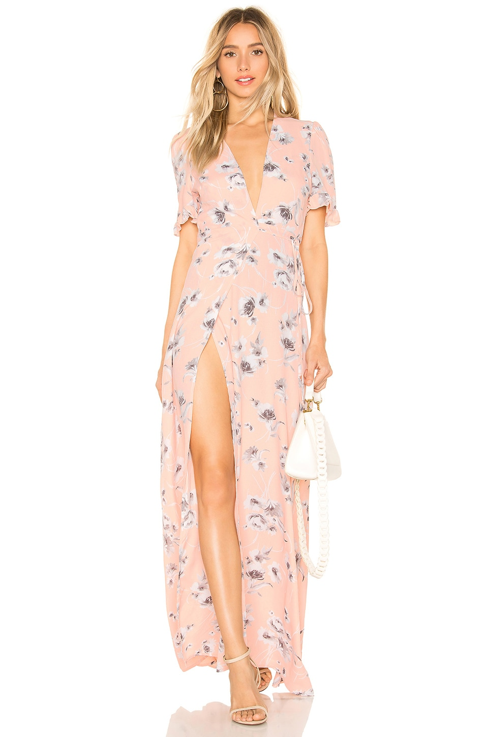 FLYNN SKYE Celeste Maxi Dress in Evening Bouquet