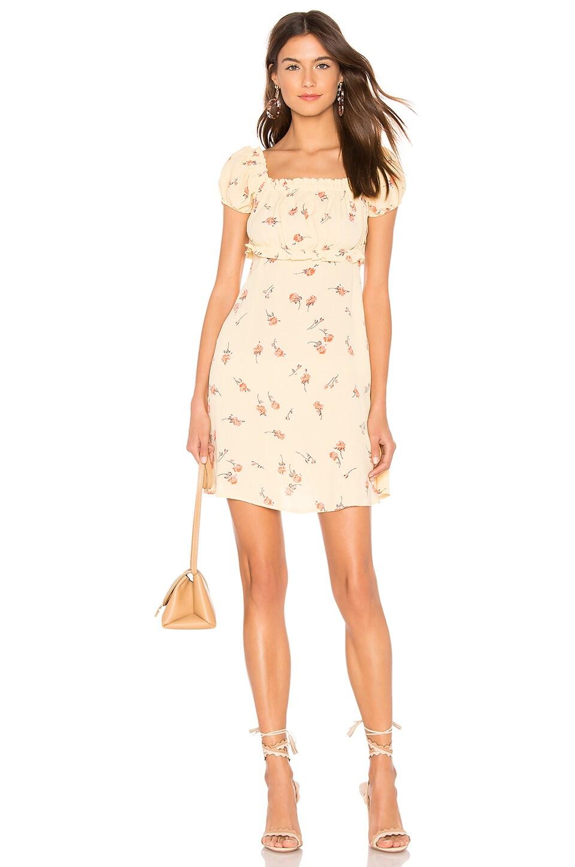 FLYNN SKYE Lou Mini Dress in Sunshine Blooms
