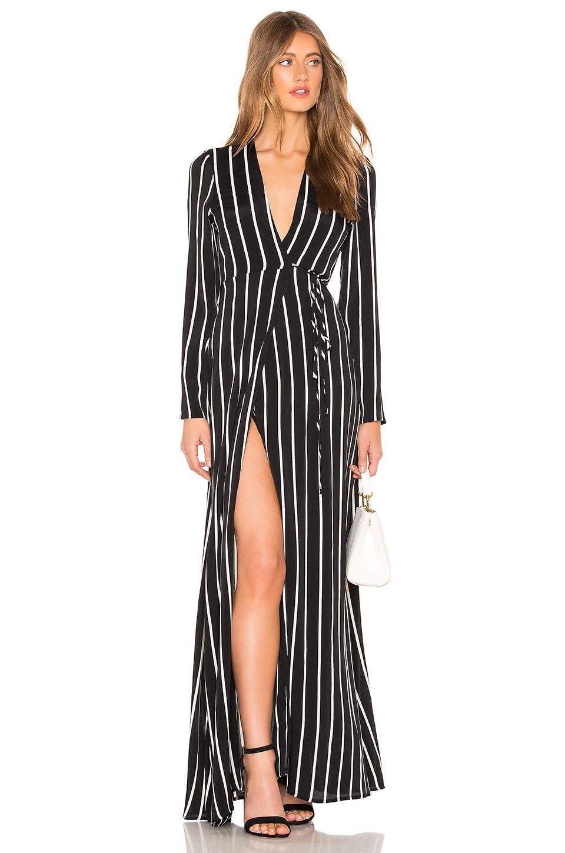 FLYNN SKYE Kate Maxi Dress in True Stripes