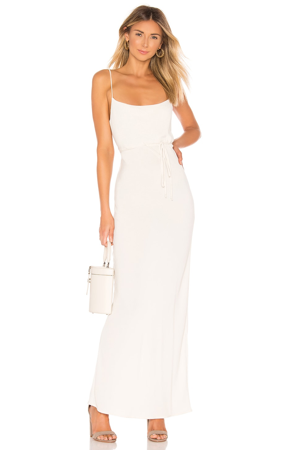 FLYNN SKYE Jackie Slip Dress in Creme Brulee