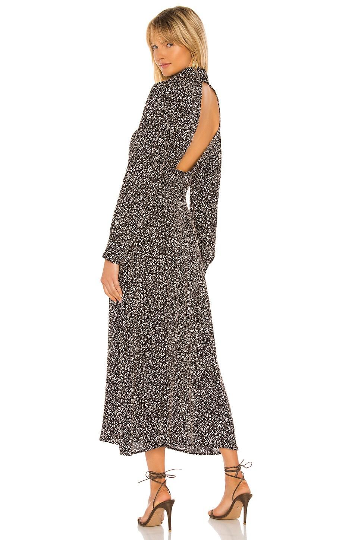 FLYNN SKYE Magnolia Midi Dress in Blush Petals