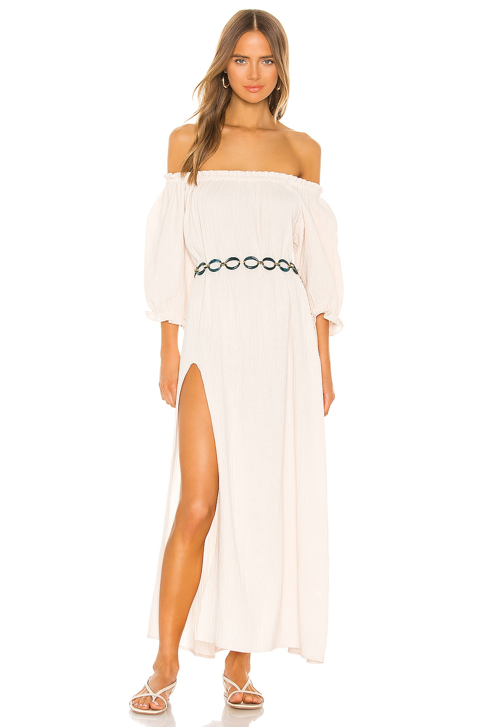 FLYNN SKYE Takata Maxi Dress in Marrow