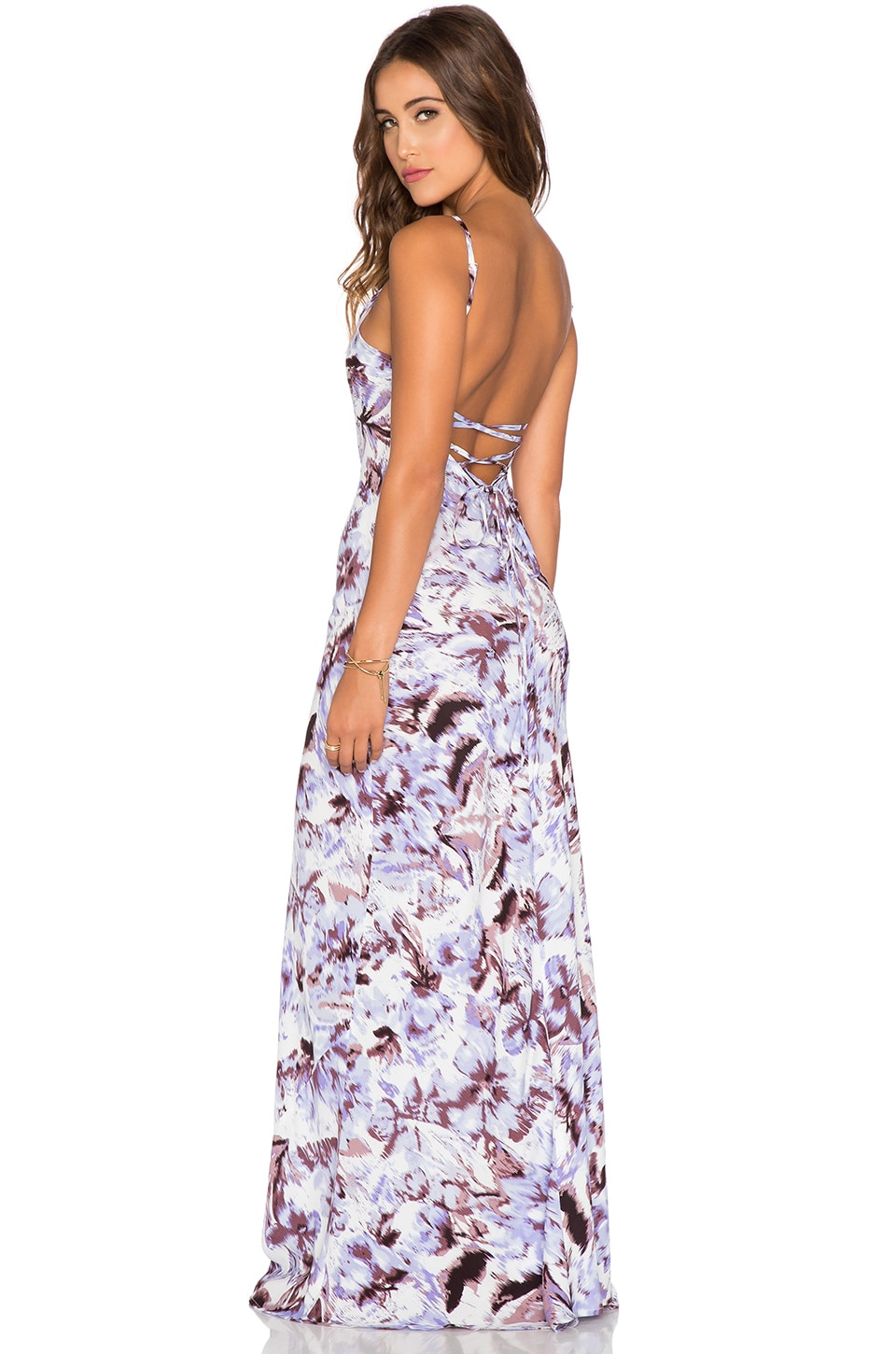 FLYNN SKYE Anastasia Maxi Dress in Blurred Vision