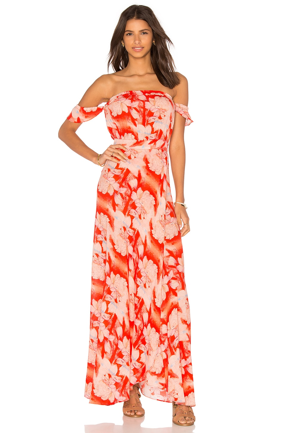 FLYNN SKYE Bella Dress in Flaming Moonshire