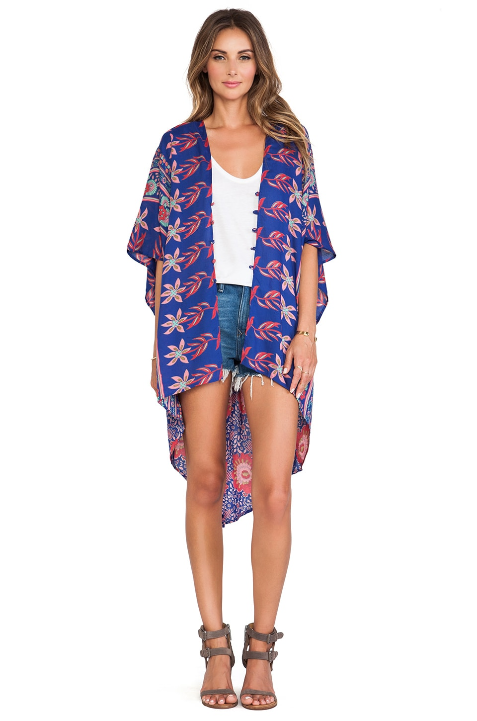 FLYNN SKYE Stevie Kimono in Thailand Dream