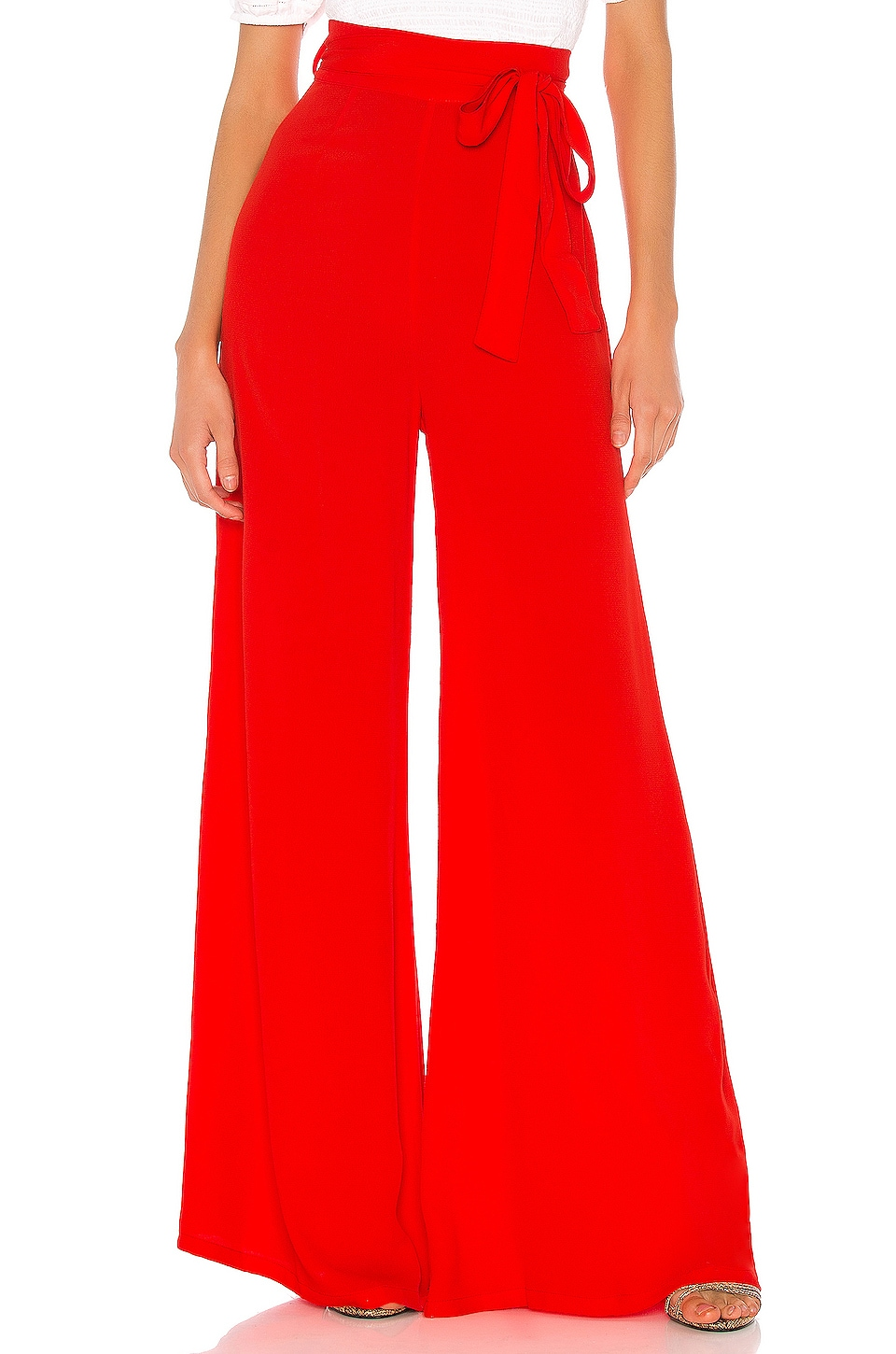 FLYNN SKYE Penelope Pant in Red Pepper