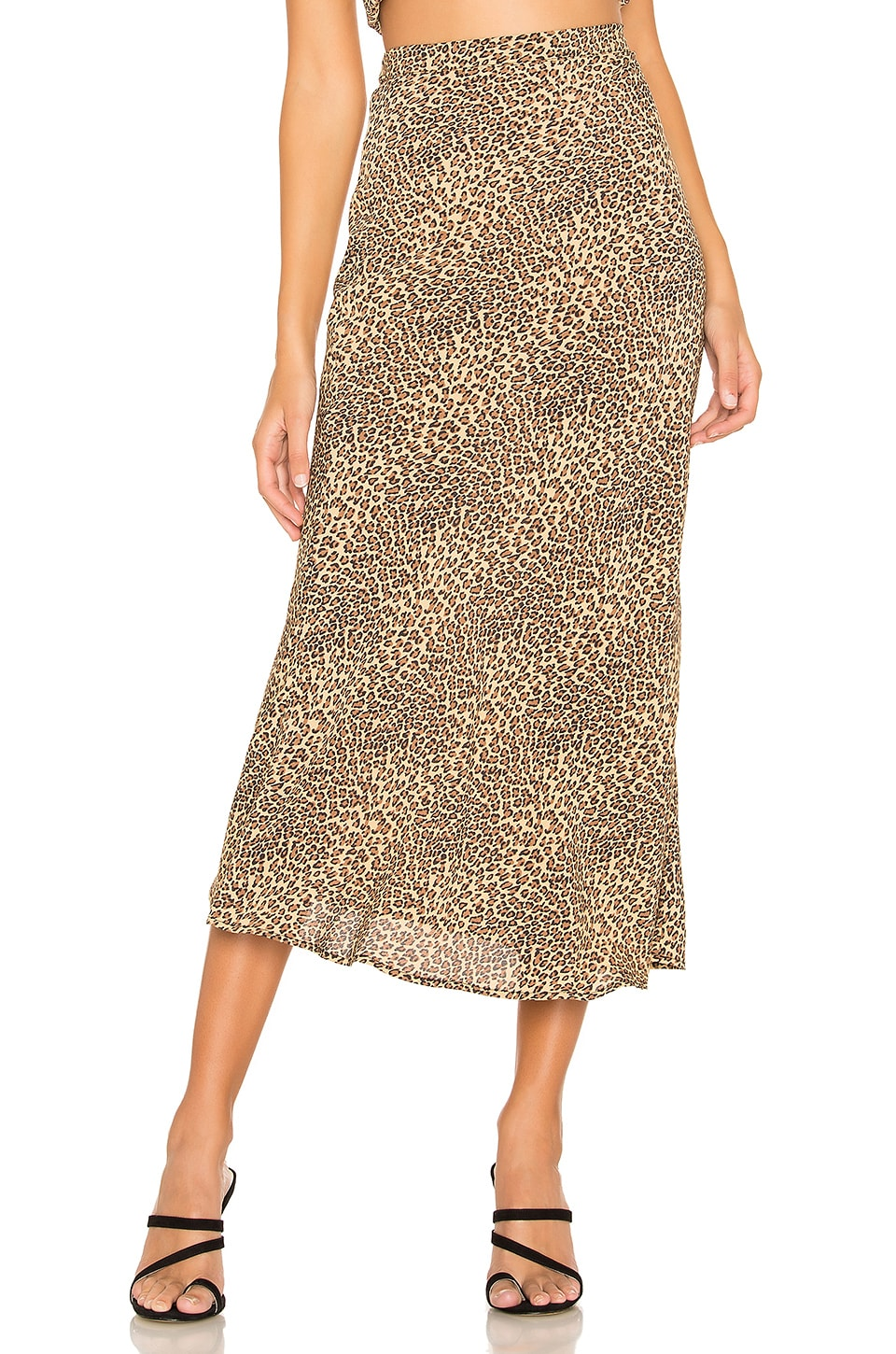 FLYNN SKYE Alice Skirt in Animal Print