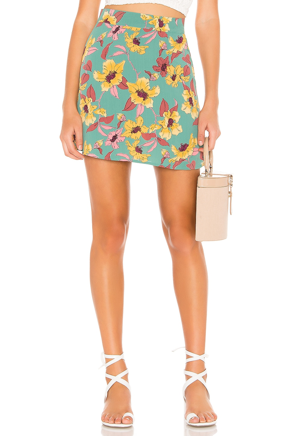 FLYNN SKYE It Skirt in Twilight Walk