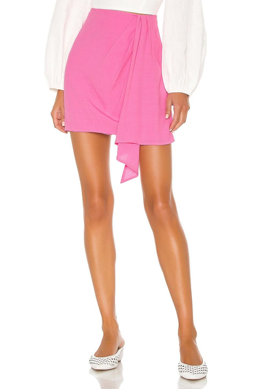 FLYNN SKYE Samantha Skirt in Peony Pink