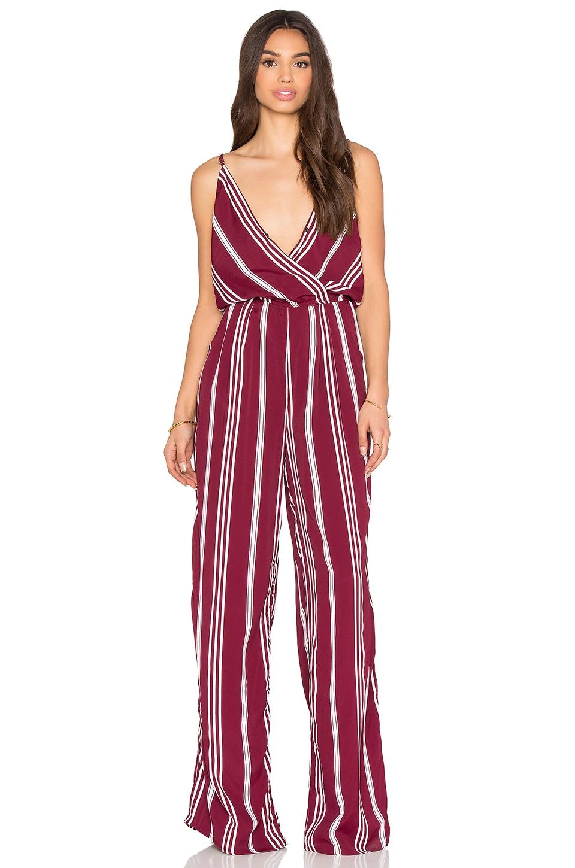 FLYNN SKYE Dressy Jumper in Dahlia Stripe