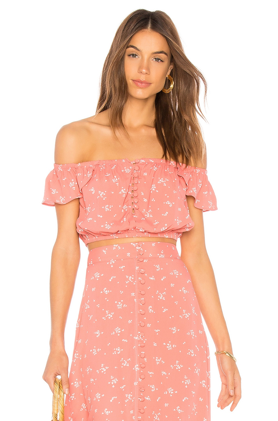 FLYNN SKYE Tori Top in Cotton Candy Delight