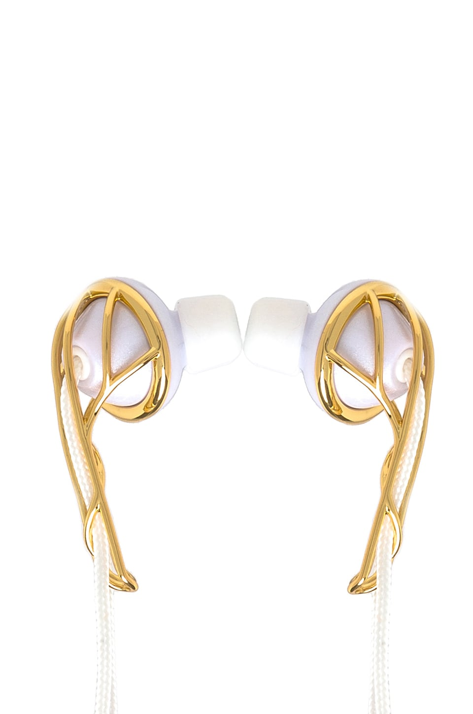 FRENDS Ella B Earbuds in Gold & White