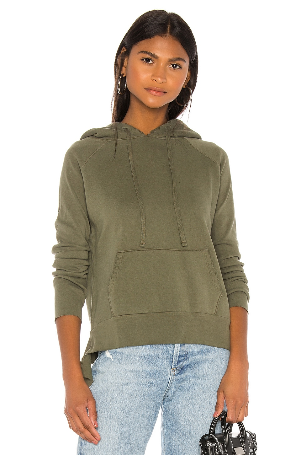 Frank & Eileen tee lab Triple Fleece Hoodie in British Army