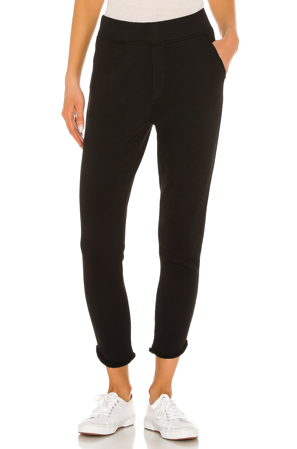 Frank & Eileen tee lab Trouser Sweatpant in Black
