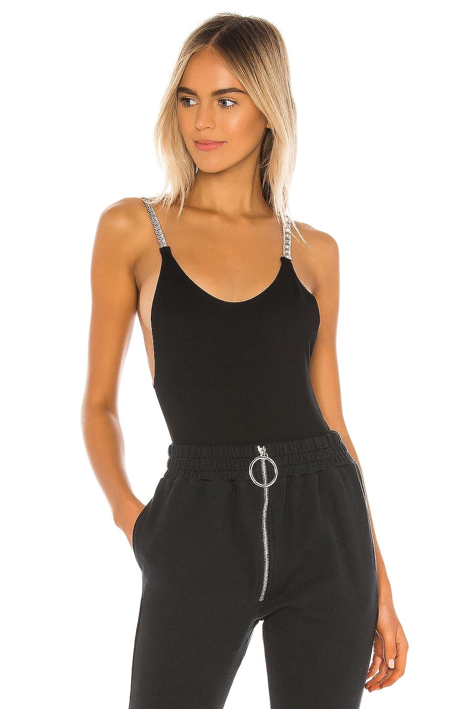 Frankie B x miss Alaina Bodysuit in Black