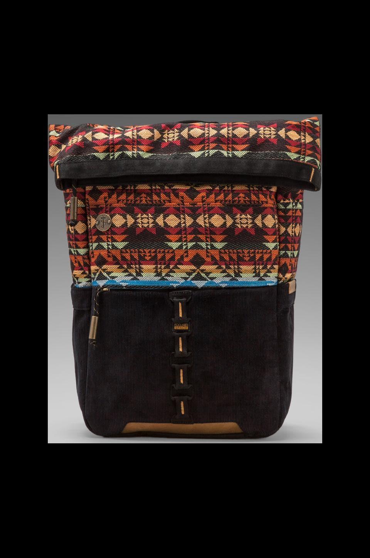 Focused Space The Rolltop Backpack w/Laptop Compartment en Noir