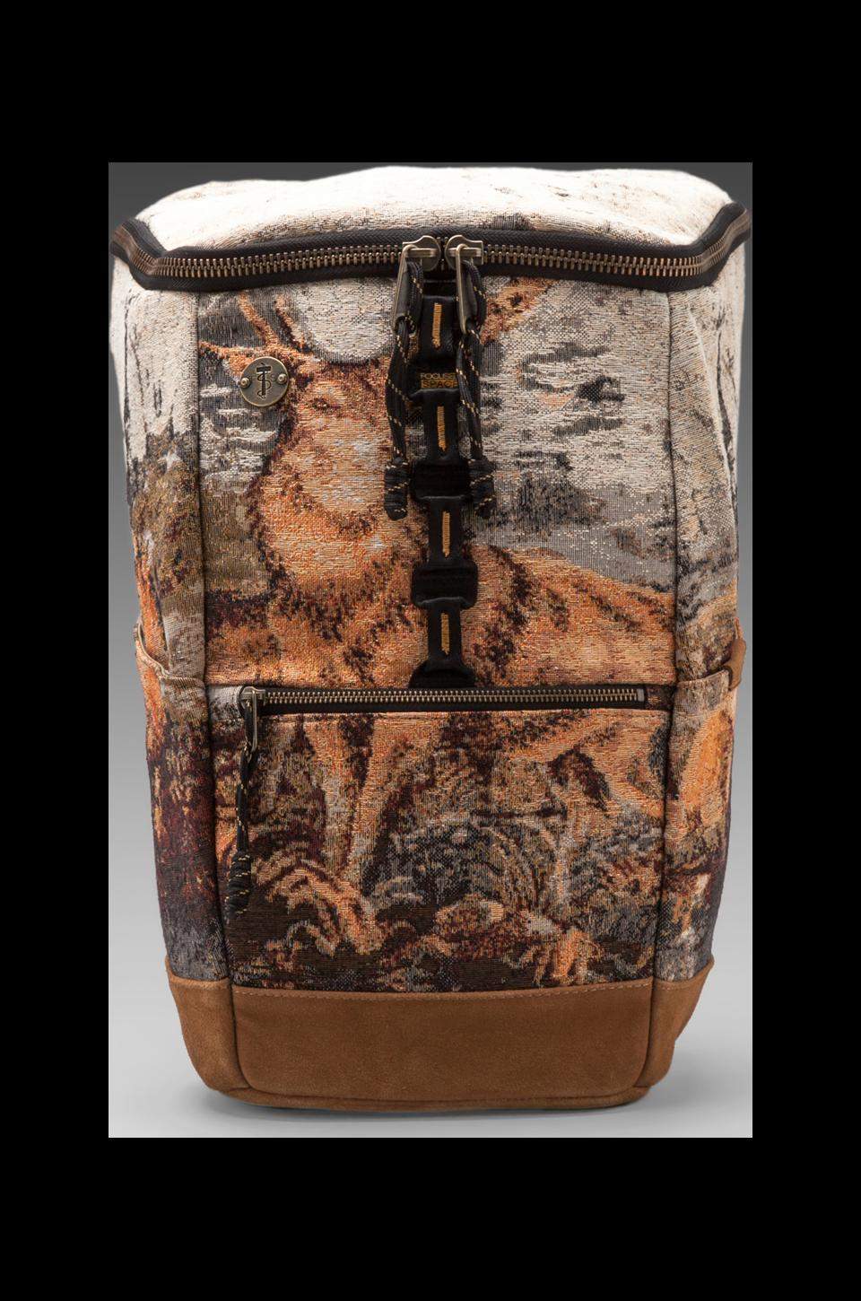 Focused Space The Silo Elk Backpack w/Laptop Compartment in Elk Print