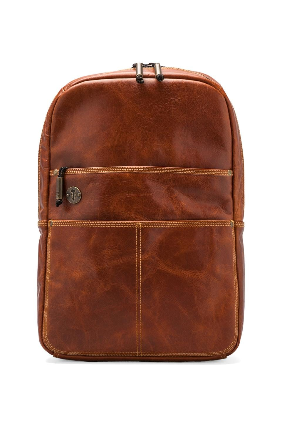 Focused Space The Holster Backpack w/Padded Laptop Compartment in Brown