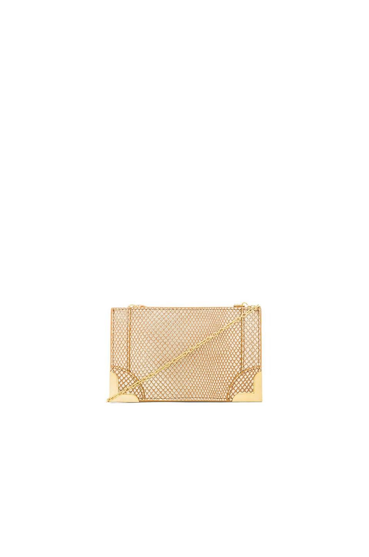 Foley + Corinna Framed Petite Crossbody in Gold Dust