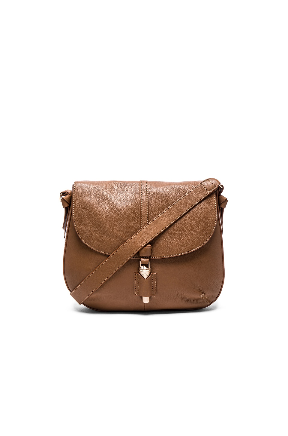 Foley + Corinna Mia Saddle Bag in Chestnut