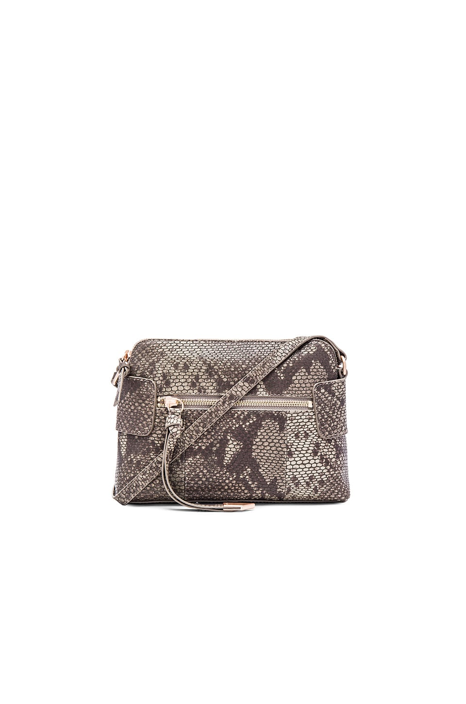 Foley + Corinna Emma Crossbody Bag in Safari Snake