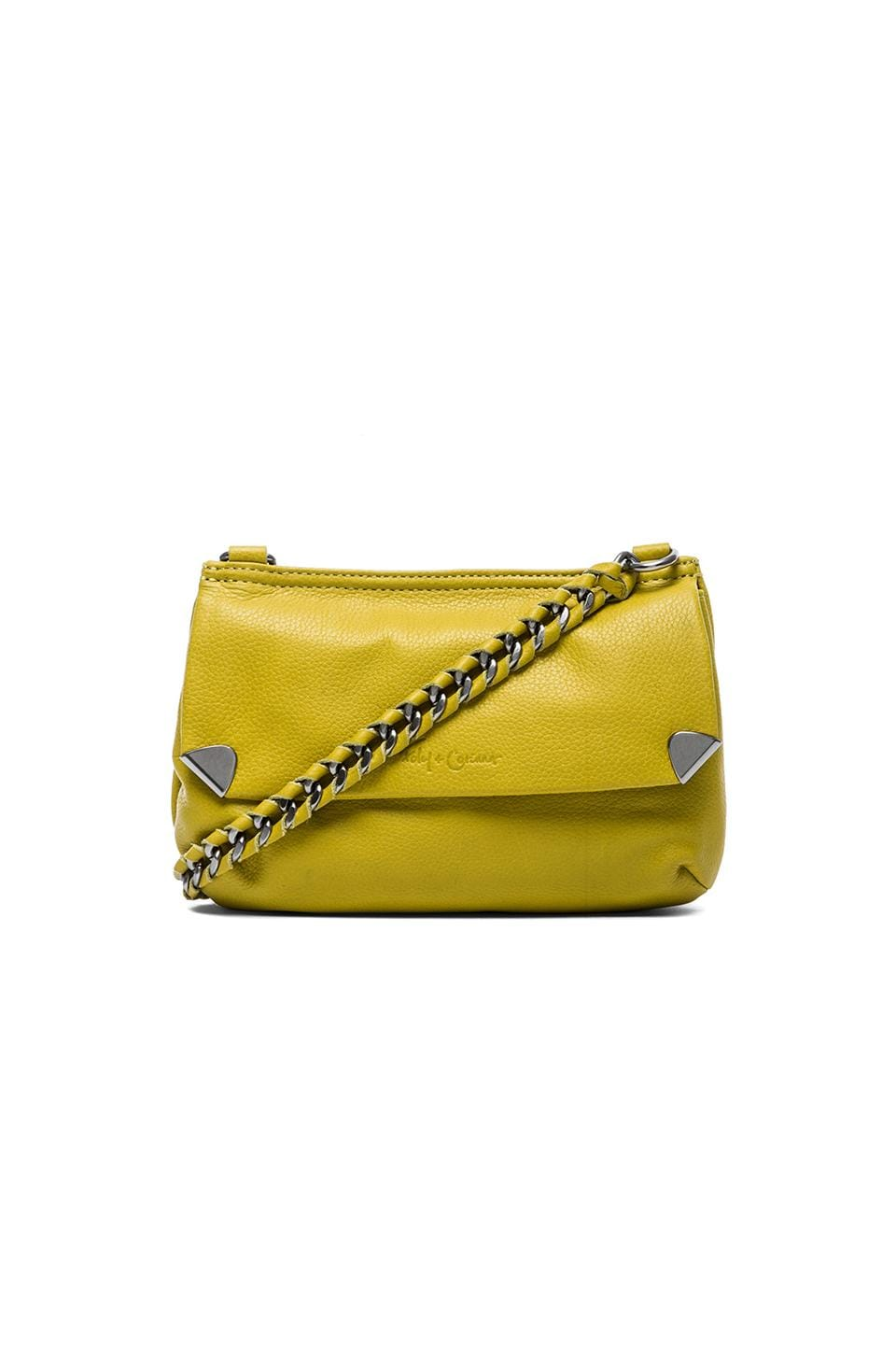 Foley + Corinna Unchained Crossbody in Lime