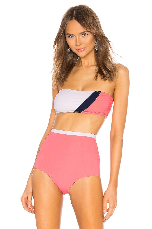 FLAGPOLE Maya Bikini Top in Flamingo Multi
