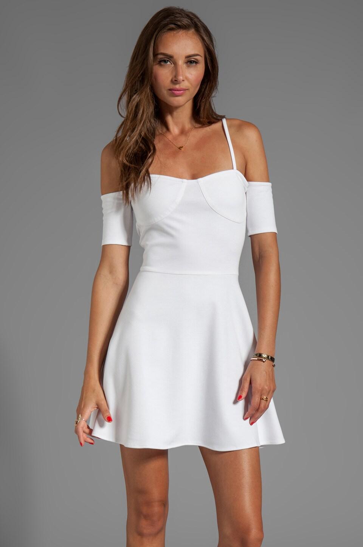 For Love & Lemons All Night Dress in White