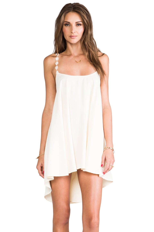 For Love & Lemons REVOLVE Exclusive Cherry Pop Dress in Ivory