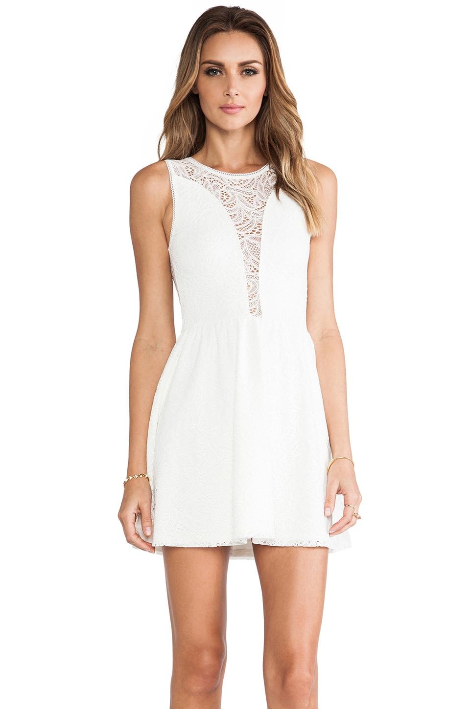 For Love & Lemons Lulu Dress in Off White