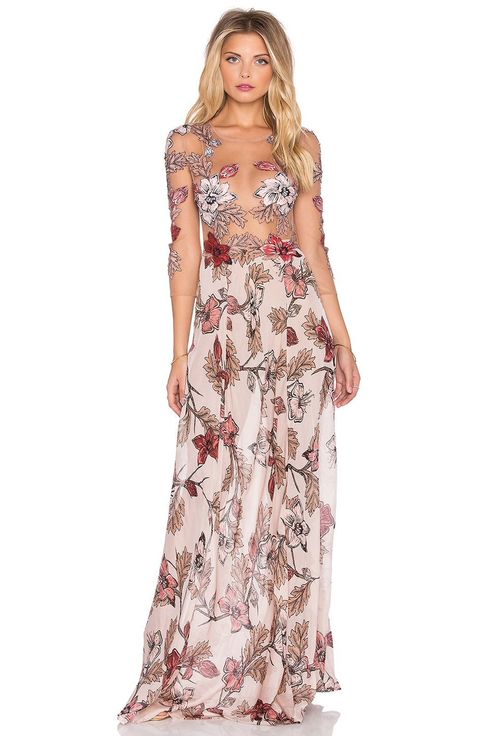 For Love Lemons Sierra Maxi Dress In Blush Floral Revolve Check out our ivory maxi dress selection for the very best in unique or custom, handmade pieces from our dresses shops. for love lemons
