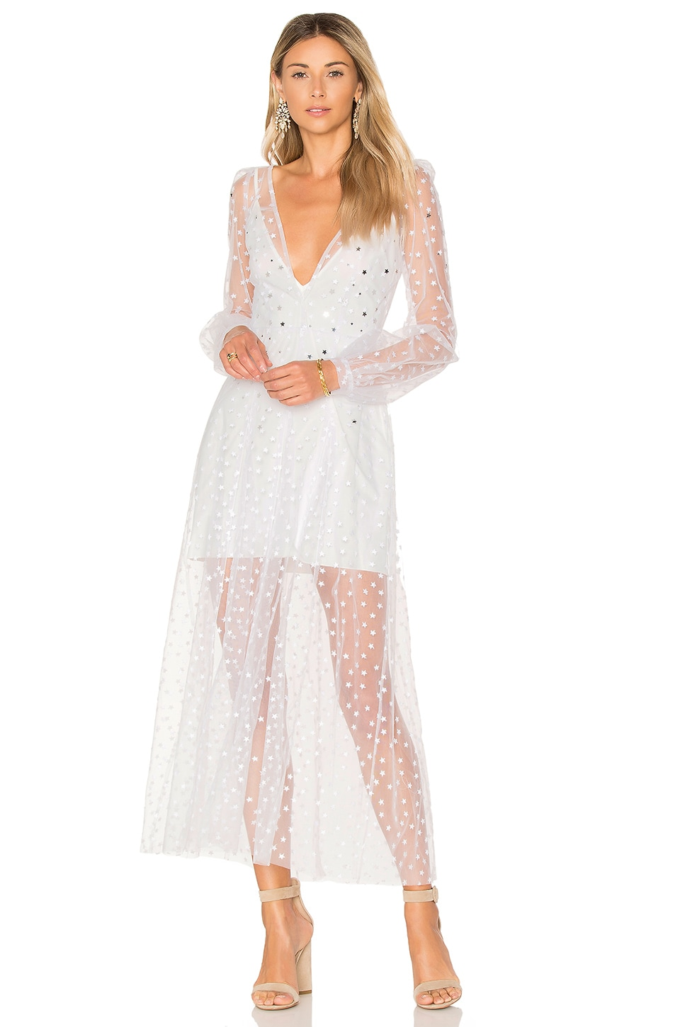 All That Glitters Maxi Dress by For Love & Lemons
