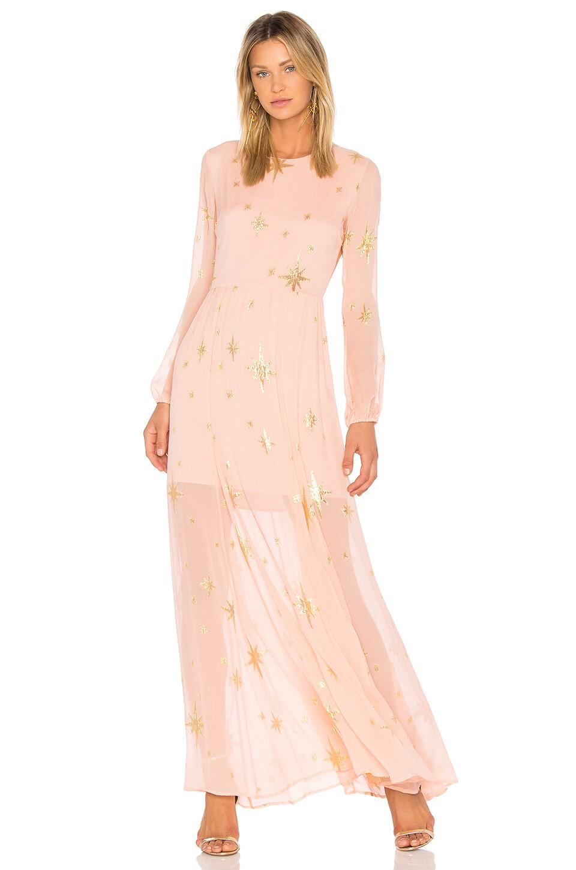 Gilded Star Maxi Dress