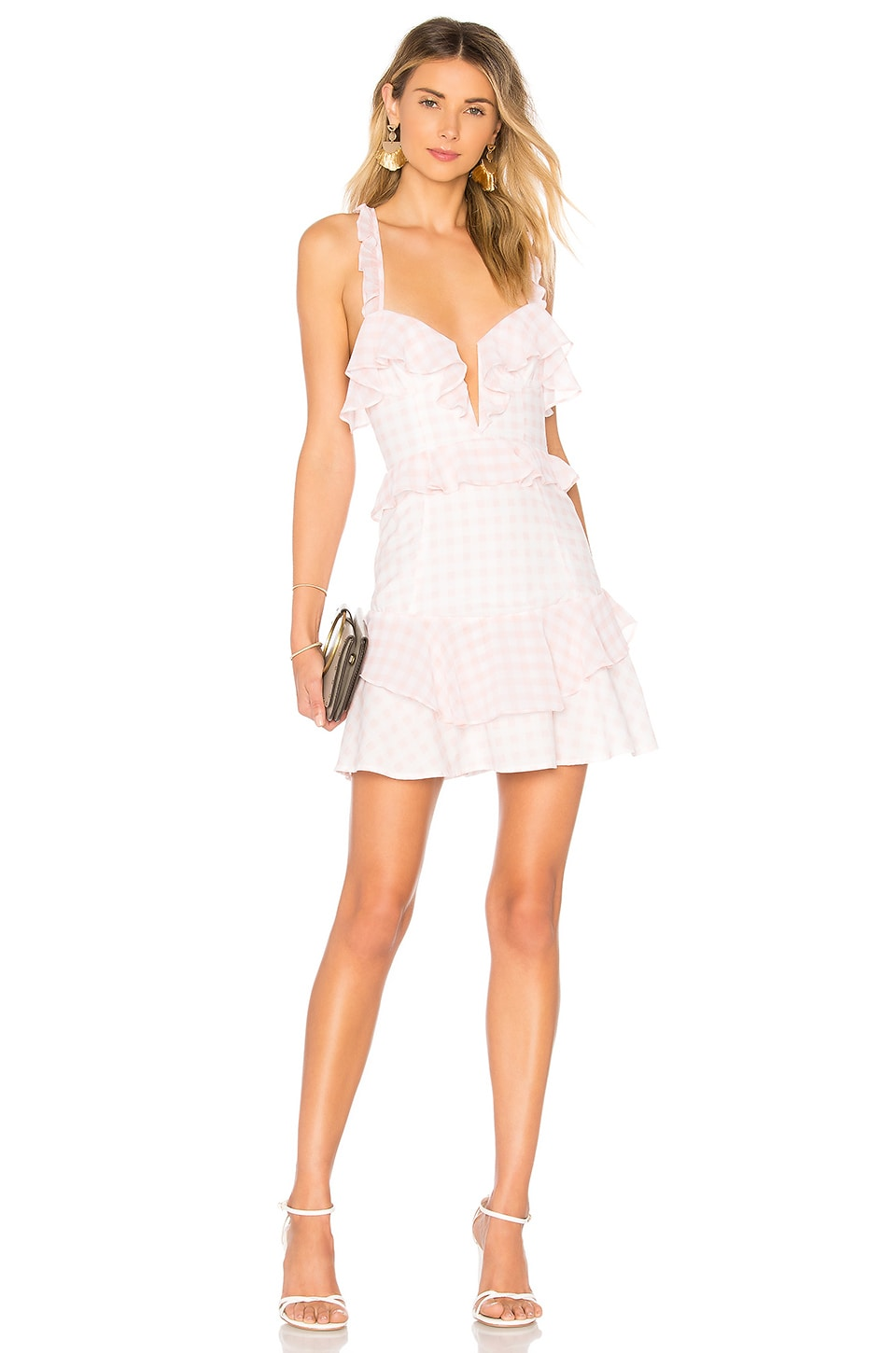 For Love & Lemons MINIVESTIDO DIXIE