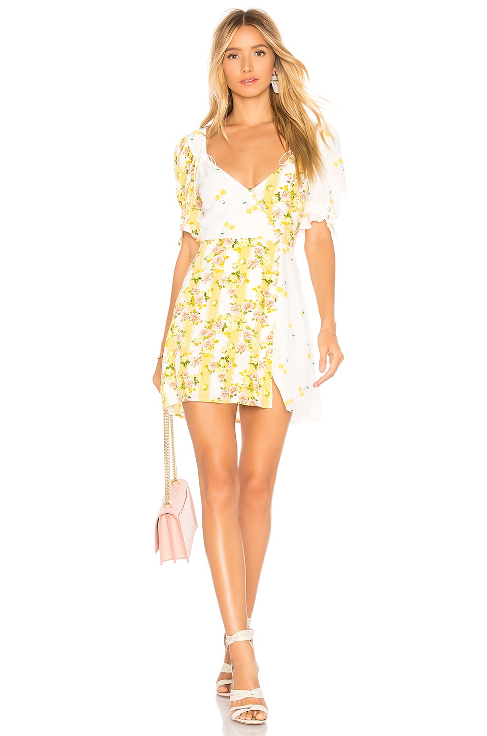 Savannah Wrap Mini Dress