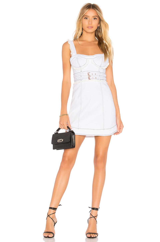 Daria Denim Underwire Dress by For Love & Lemons