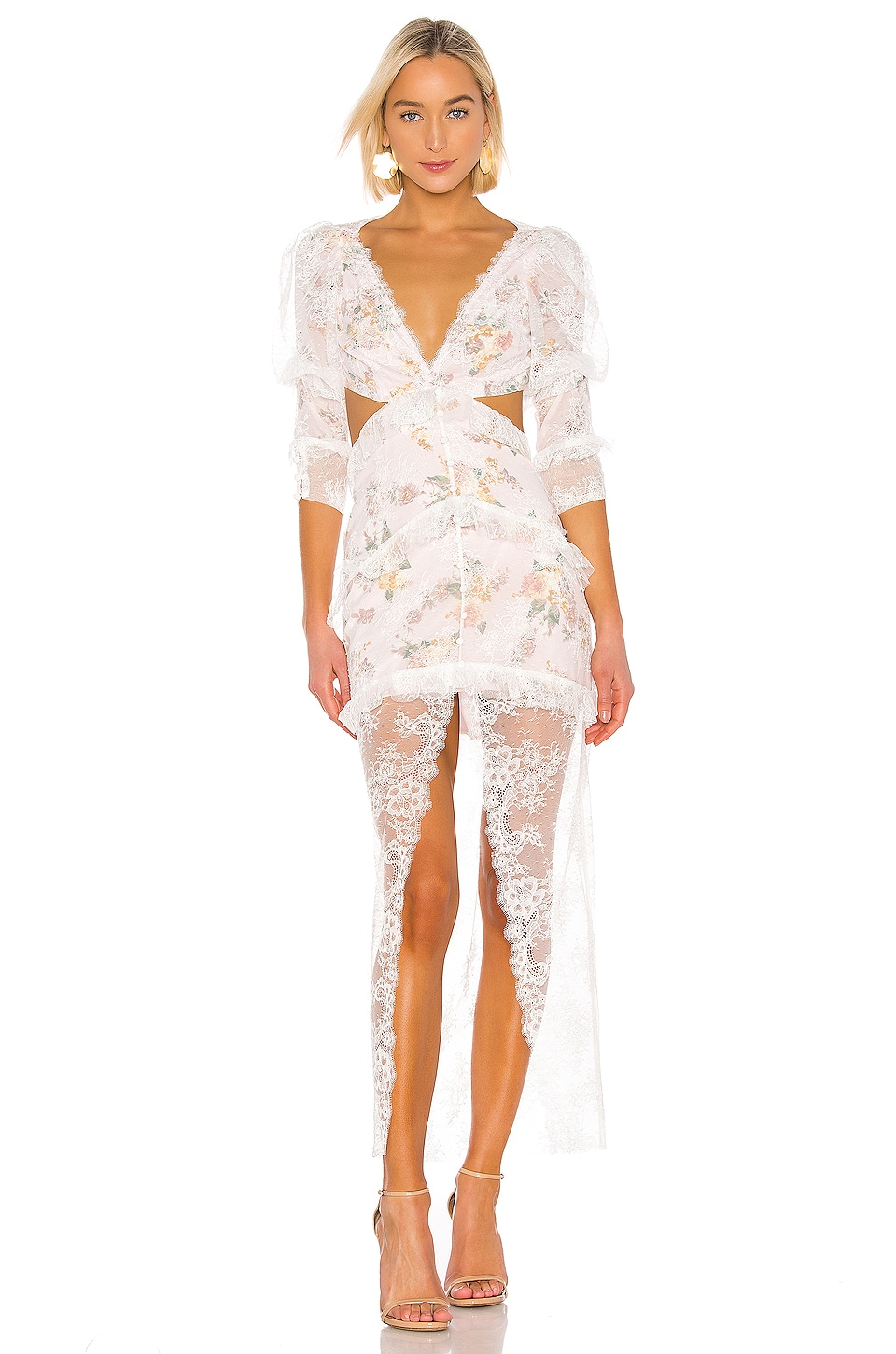 For Love & Lemons ROBE PEARL
