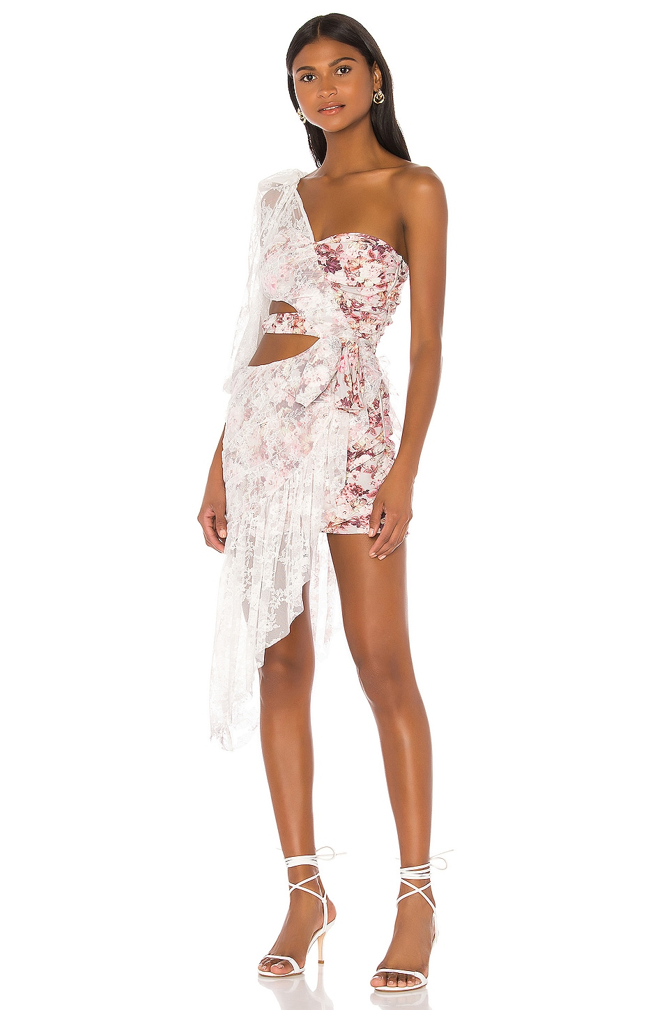 For Love & Lemons VESTIDO CUT OUT DALLAS