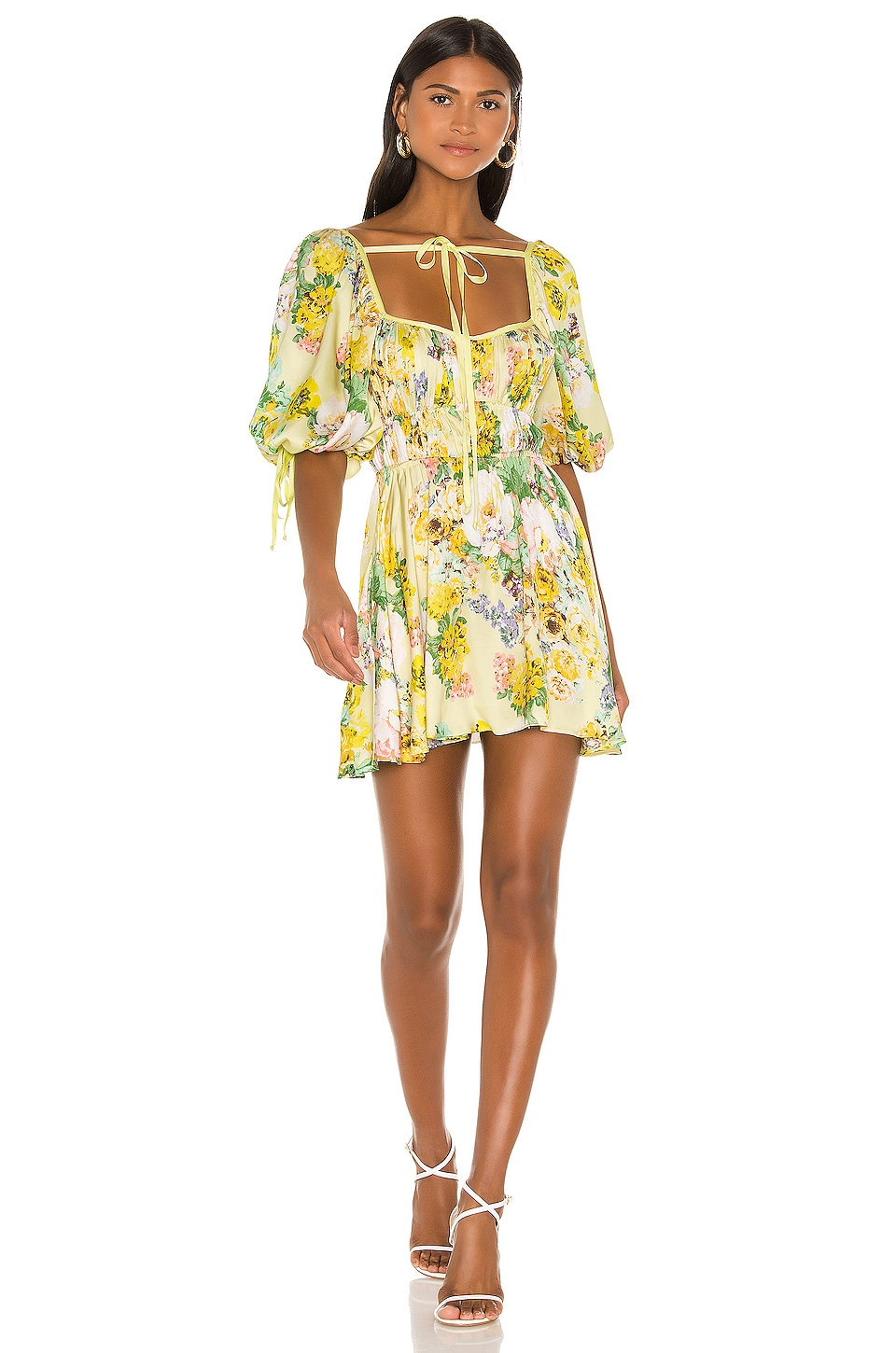 For Love Lemons Leigh Floral Mini Dress In Buttercreme Revolve Buy cheap floral dresses from reliable online fashion clothes store at roselinlin! for love lemons