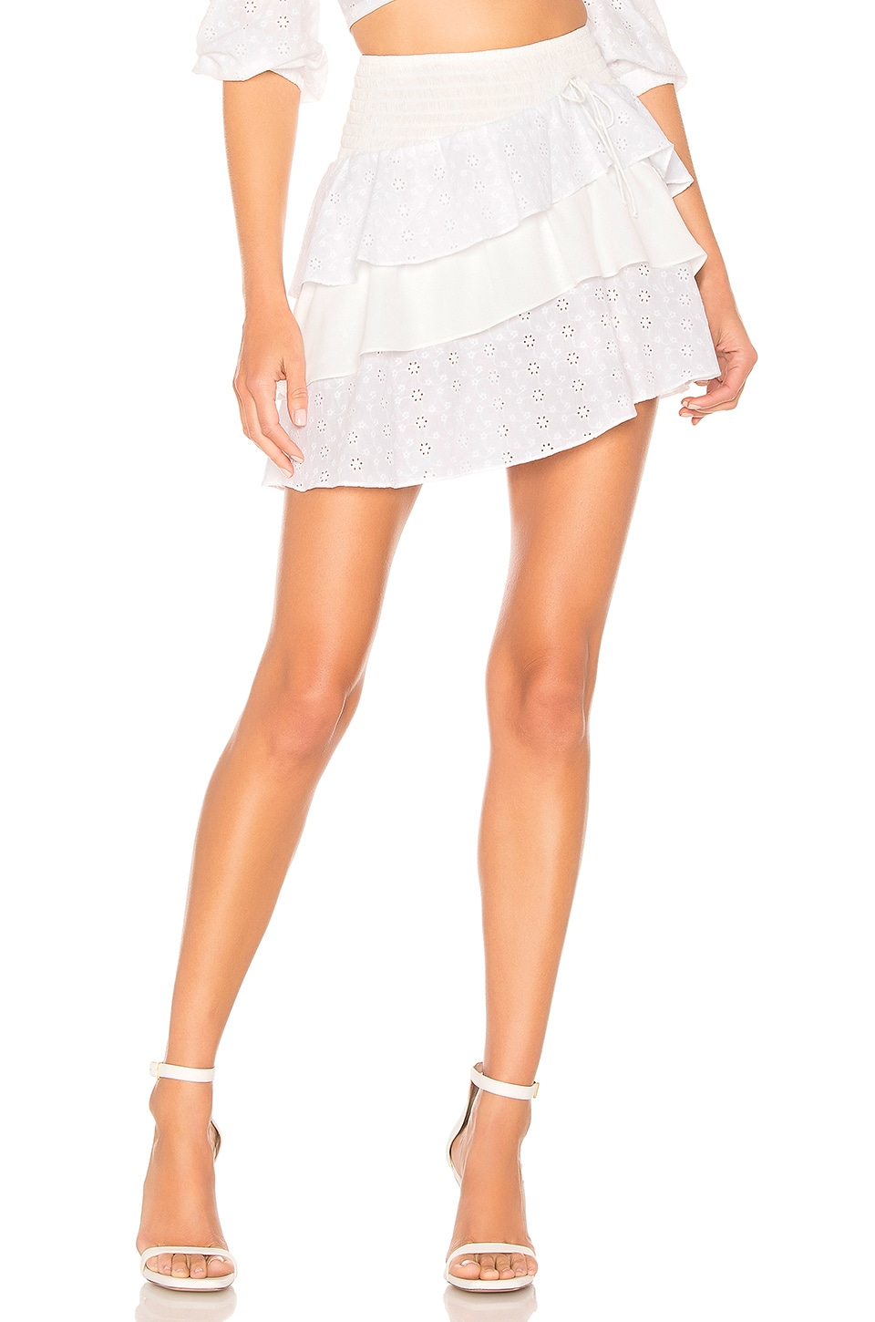 For Love & Lemons BORA BORA SKIRT