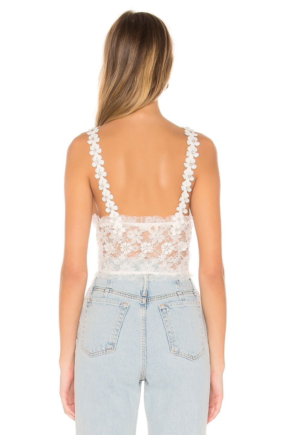 For Love & Lemons Accessories Rosette Cami